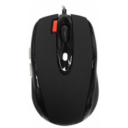 Мышь проводная CBR CM-377 чёрный USB