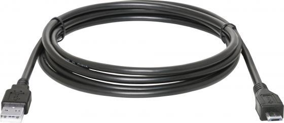 Кабель USB 2.0 AM-microBM 1.8м Defender USB08-06 Polybag 87459 кабель usb 2 0 am microbm 1м gembird золотистый металлик cc musbgd1m