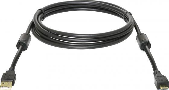 Кабель USB 2.0 AM-microBM 1.8м Defender USB08-06PRO зол.кон. 2фил 87442 кабель usb 2 0 am microbm 1м gembird золотистый металлик cc musbgd1m