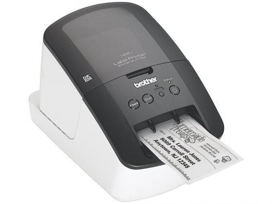 Принтер для печати наклеек Brother QL-710W WiFi USB