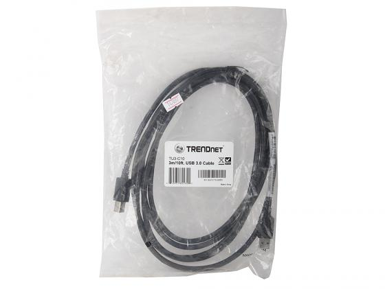 Кабель Trendnet USB 3.0 AM-BM 3.0м TU3-C10 маршрутизатор trendnet tew 680mb