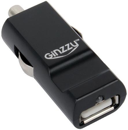 Автомобильное зарядное устройство Ginzzu GA-4310UB 2.1A черный ginzzu ga 4212ub black автомобильное зарядное устройство 2 5 a