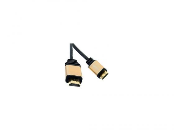 Фото - Кабель HDMI-mini HDMI 1.8м DEFENDER HDMI07-06PRO ver. 1.4 BL 87441 аксессуар mobiledata hdmi 4k v 2 0 плоский 1 8m hdmi 2 0 fn 1 8