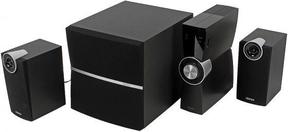 Колонки Edifier C2XD 2x9 Вт + 35W оптич. вход черный цена и фото
