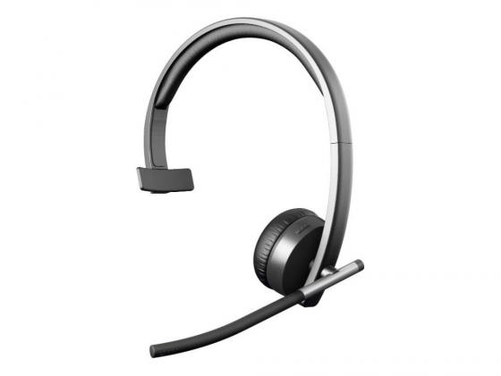 Гарнитура Logitech Wireless Headset H820e MONO 981-000512 беспроводная гарнитура logitech wireless headset h820e mono 981 000512