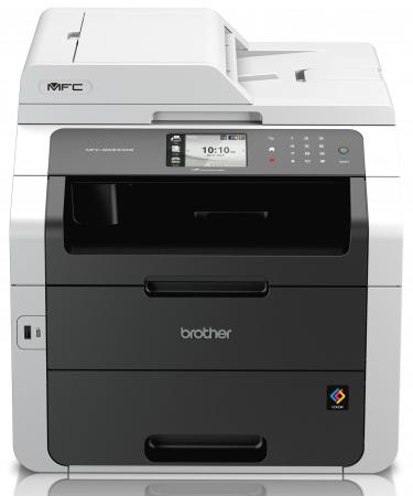 МФУ Brother MFC-9330СDW цветное A4 22ppm дуплекс ADF факс WiFi Ethernet USB мфу лазерный brother mfc l2700dnr mfcl2700dnr1 a4