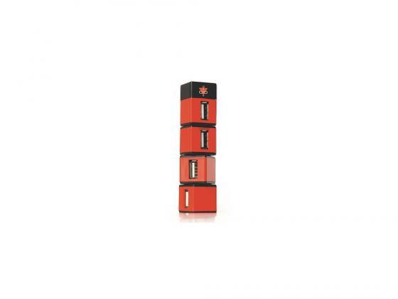 все цены на Концентратор USB Konoos UK-05 4 порта USB 2.0 в виде небоскреба
