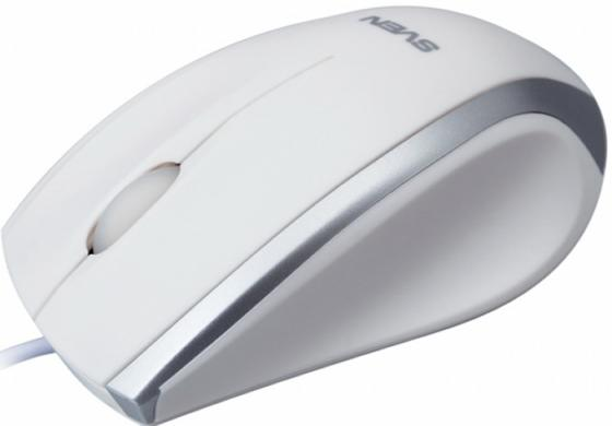 все цены на Мышь проводная Sven RX-180 белый USB онлайн