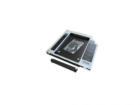 Переходник Optibay Espada SS95 DVD mini SATA - HDD SATA slim 9.5 mm переходник usb to sata espada paub023
