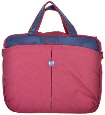 Сумка для ноутбука 10 Continent CC-010 Burgundy нейлон красный спортивная сумка charcho 2015 cc 1011