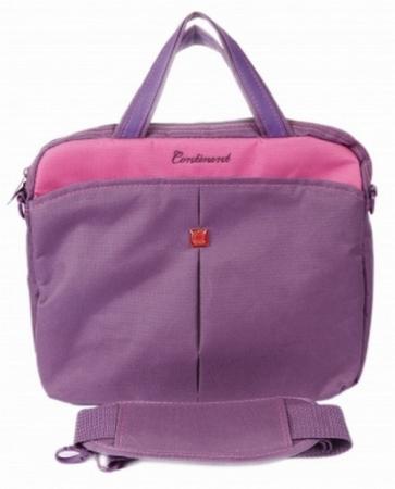 """Сумка для ноутбука 10"""" Continent CC-010 Purple нейлон фиолетовый force f 5084"""