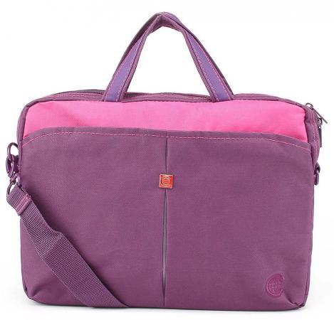 """все цены на Сумка для ноутбука 13"""" Continent CC-013 Burgundy нейлон пурпурный онлайн"""