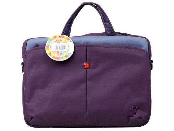 Сумка для ноутбука 13 Continent CC-013 Violet фиолетовый нейлон