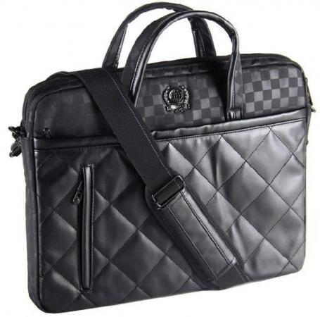 сумка для ноутбука continent cc 036 grey до 15 6 16 серый полиэстр эко кожа 40 x 30 x 4 5 см Сумка для ноутбука 15.6 Continent CC-036 Black полиэстр черный
