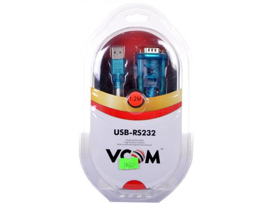 Кабель-переходник USB 2.0 AM-COM 9pin VCOM VUS7050 1.2м ZE394 1.5 М
