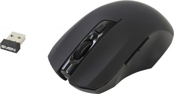 Мышь беспроводная Sven RX-350 чёрный USB мышь sven rx 350 wireless