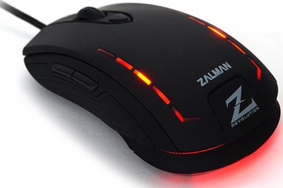 все цены на Мышь проводная Zalman ZM-M401R чёрный USB онлайн