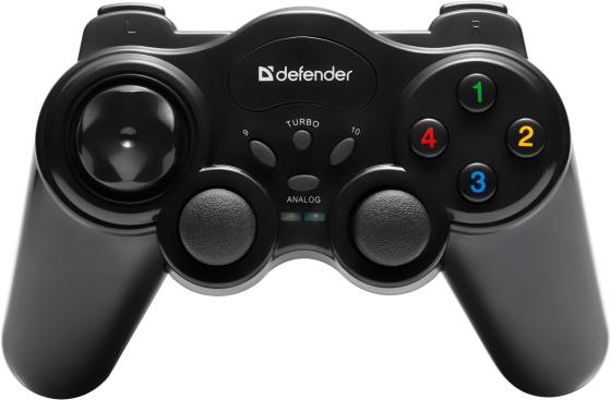 Геймпад Defender GAME MASTER WIRELESS USB 64257