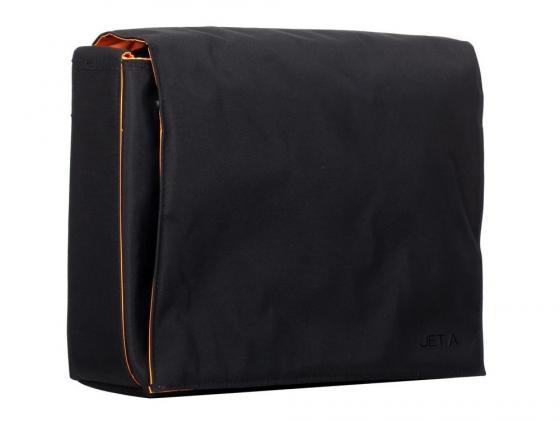 Сумка для ноутбука 13.3 Jet.A LB13-11 полиэстер черный-оранжевый