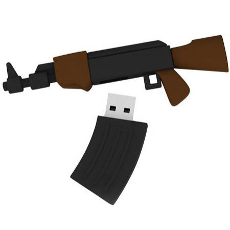 Флешка USB 16Gb ICONIK Автомат АК-74 RB-AK74-16GB usb flash drive 16gb iconik снеговик rb sm1 16gb