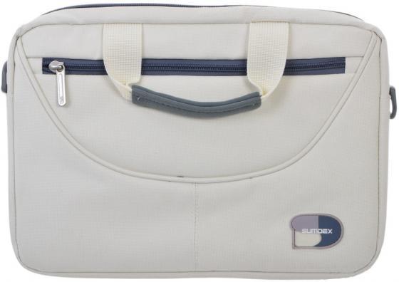Сумка для ноутбука 10 Sumdex PON-308CM Netbook Case полиэстер белый сумка для ноутбука sumdex case pon 302bk 15нейлон чёрный pon 302bk