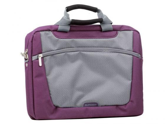 Сумка для ноутбука 16 Sumdex PON-318PL Computer Brief полиэстер фиолетовый
