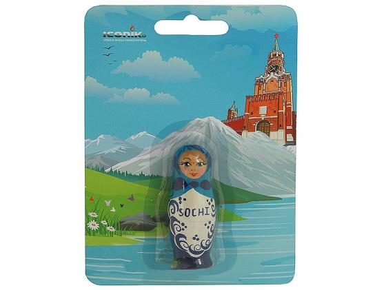 Флешка USB 16Gb ICONIK Русская Матрёшка RB-RDOLL-16GB rb puss 16gb