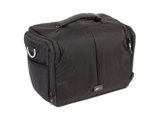 Сумка для фотоаппарата Jet.A CB-14 нейлон черный сумка для фотоаппарата matin neo zoom pack 35 extended черный m 10026