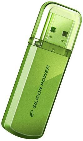 Флешка USB 16Gb Silicon Power Helios 101 SP016GBUF2101V1N зеленый usb flash накопитель silicon power helios 101 4gb green