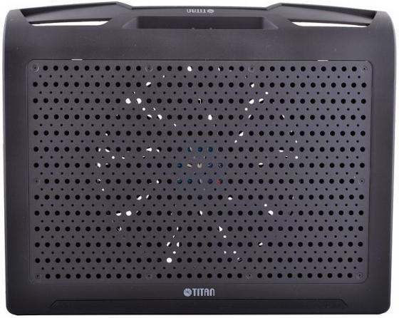 Подставка для ноутбука 17 Titan TTC-G25T/B4 алюминий/пластик 600-750 об/мин 20db черный подставка для ноутбука titan ttc g25t b4