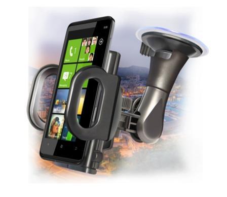 Автомобильный держатель Ginzzu GH-582 для телефонов шириной от 50 до 115 мм держатель ginzzu gh 582 универсальный