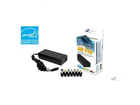 Блок питания для ноутбука FSP NB V90 90Вт 8 переходников блок питания для ноутбука 5bites pa90ad 08 90вт для acer dell