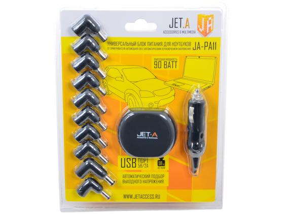 Автомобильный блок питания для ноутбука Jet.A JA-PA11 Spot 90Вт 10A irf740 irf740pbf 400v 10a to220