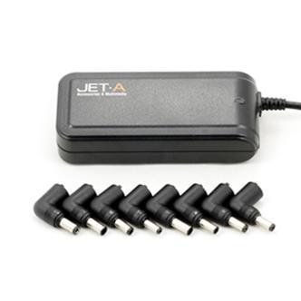 Блок питания для ноутбука Jet.A JA-PA1 Herz 90Вт с автоматическим переключением напряжения 8 переходников цена и фото