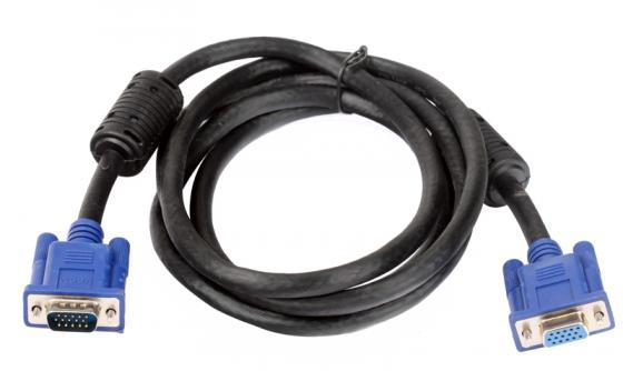Кабель удлинитель VGA 1.8м VCOM 2 фильтра VVG6460-1.8M кабель удлинитель vga 3 0м gembird vga ext 2 фильтра cc pvgax 10 e vga x l 3 05м