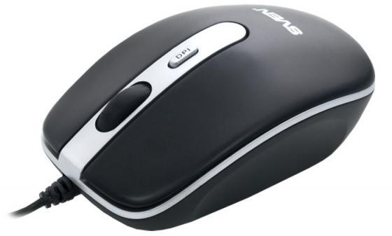 все цены на Мышь проводная Sven RX-500 Silent чёрный USB онлайн