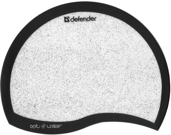 Коврик для мыши Defender пластиковый Ergo opti-laser черный/серебристый 215х165х1.2мм 50511 стоимость
