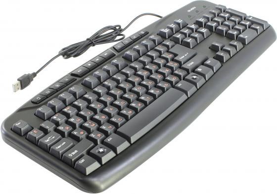 Клавиатура проводная Sven Comfort 3050 USB черный клавиатура проводная sven sv 0310