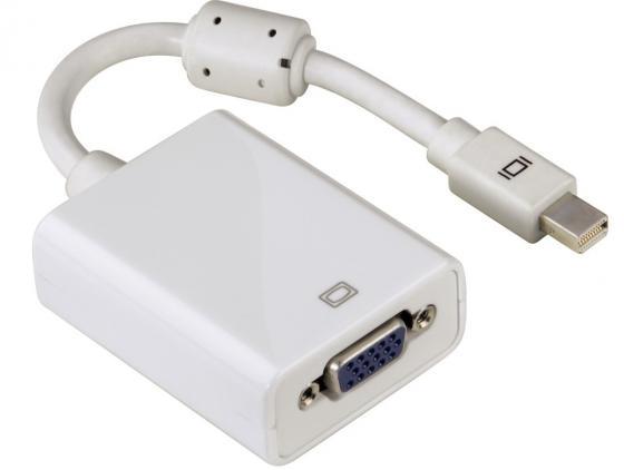 Кабель-переходник Hama Mini DisplayPort - VGA H-53247 кабель переходник 0 2м vcom telecom mini displayport vga vhd6070