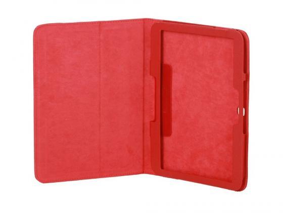 Чехол IT BAGGAGE для планшета Samsung Galaxy Tab 3 10.1 искусственная кожа красный ITSSGT1032-3 чехол для планшета samsung flat screen protector p7500 p7510 p5100 p5110 n8000 n8010