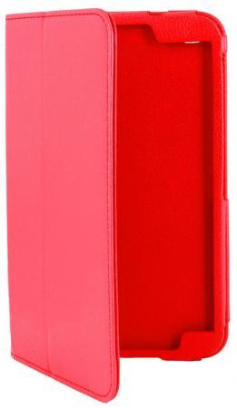Чехол IT BAGGAGE для планшета Samsung Galaxy Tab 3  7 искусственная кожа красный ITSSGT7302-3 чехол для планшета it baggage для memo pad 7 me572c ce красный itasme572 3 itasme572 3