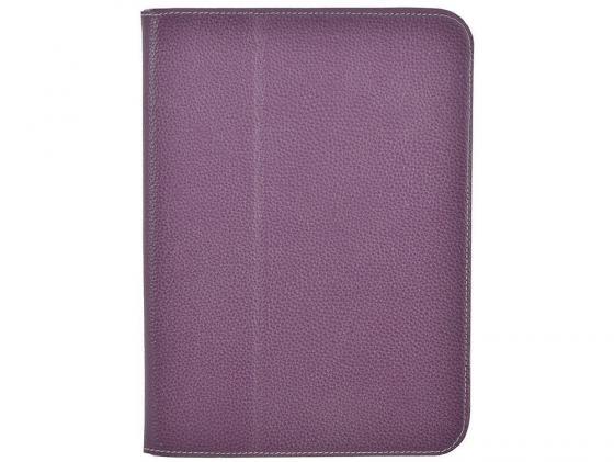 Чехол Jet.A SC10-26 для Samsung Galaxy Tab 3 10.1 натуральная кожа фиолетовый