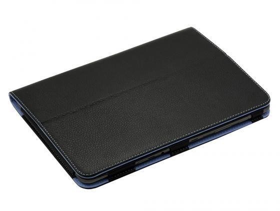 Чехол Jet.A SC10-26 для Samsung Galaxy Tab 3 10.1 натуральная кожа черный