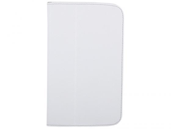 Чехол Jet.A SC7-26 для Samsung Galaxy Tab 3 7 натуральная кожа белый купить чехол для samsung galaxy tab 7 0 plus