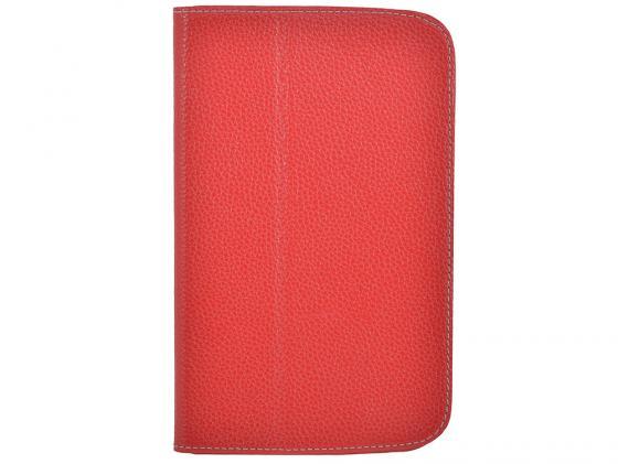 Чехол Jet.A SC7-26 для Samsung Galaxy Tab 3 7 натуральная кожа красный купить чехол для samsung galaxy tab 7 0 plus