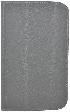 Чехол Jet.A SC7-26 для Samsung Galaxy Tab 3 7 натуральная кожа серый купить чехол для samsung galaxy tab 7 0 plus