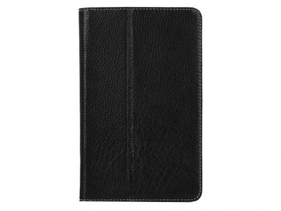 Чехол Jet.A SC7-3 для Samsung Galaxy Tab 3 7 натуральная кожа черный