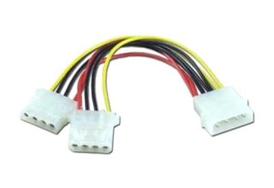 Разветвитель питания Molex - 2xMolex ORIENT C397 OEM синхронизатор запуска двух блоков питания 2 psu atx24pin molex oem