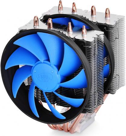 Кулер для процессора Deep Cool FROSTWIN V2.0 Socket 1155/1156/2011/1366/AM3/AM2+/939/754 медь DP-MCH4-FTV2 thermalright le grand macho rt computer coolers amd intel cpu heatsink radiatorlga 775 2011 1366 am3 am4 fm2 fm1 coolers fan