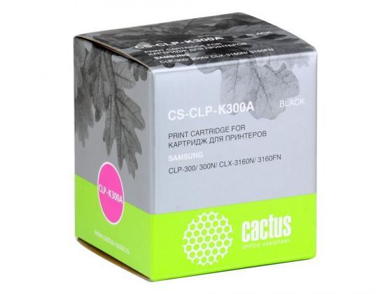 Фото - Картридж Cactus CS-CLP-K300A для Samsung CLP-300 300N CLX-3160N 3160FN черный 2000 стр. clp 545 pe